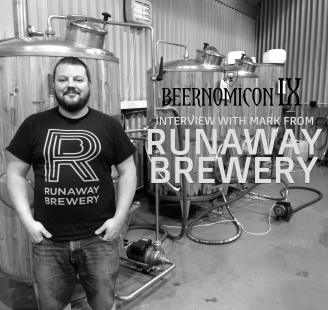 beernomicon craft beer podcast with runaway brewery