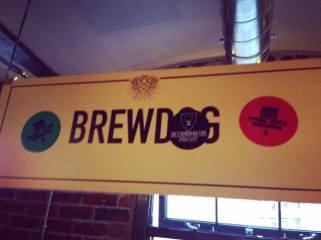 beernomicon craft beer podcast sticker brewdog sign
