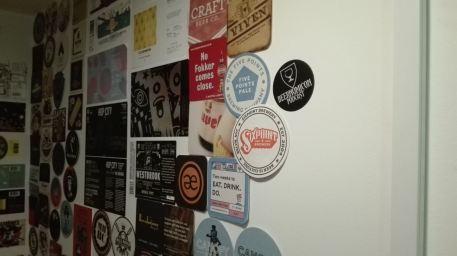 beernomicon craft beer podcast sticker at bottle shop