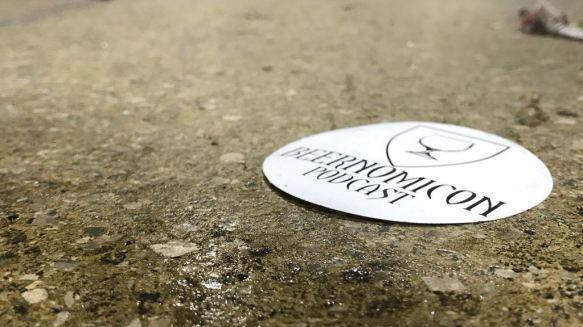 beernomicon craft beer podcast sticker