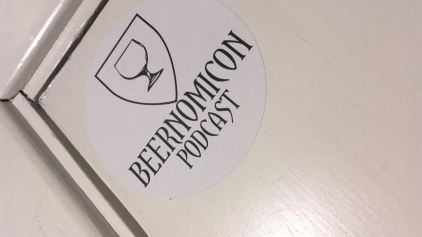 beernomicon craft beer podcast sticker