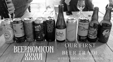 beer trade with podcast beernomicon