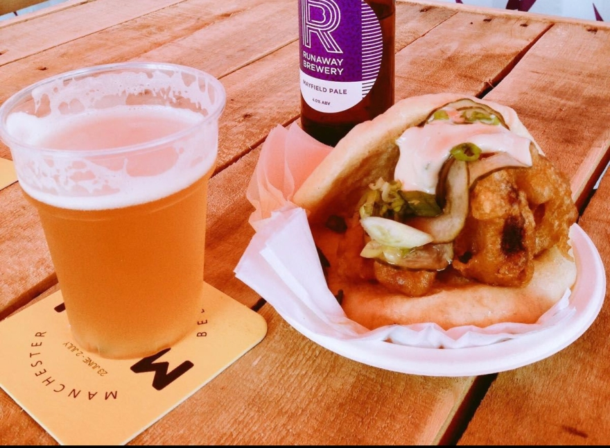 GRUB manchester street food beer podcast with beernomicon