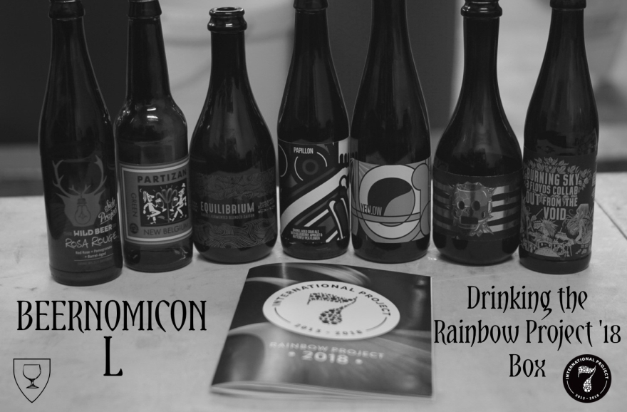 Rainbow Project podcast from beernomicon beer